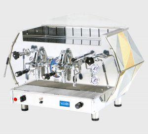 la pavoni diamante 2s espresso machine професионална кафемашина с ретро дизайн